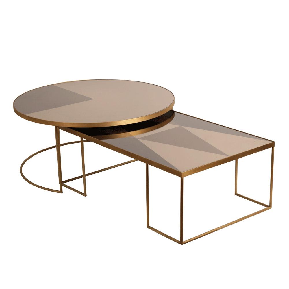 Notre Monde Geometric Coffee Table Ethnicraft Indonesia